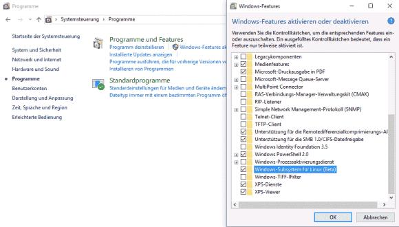 Das von Windows 10 bekannte Subsystem für Linux kommt nun auch am Server.