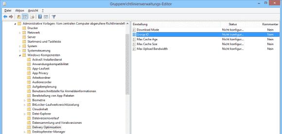 Rechner lassen sich über eine gemeinsame GUID zu einer Update-Gruppe zusammenfassen.