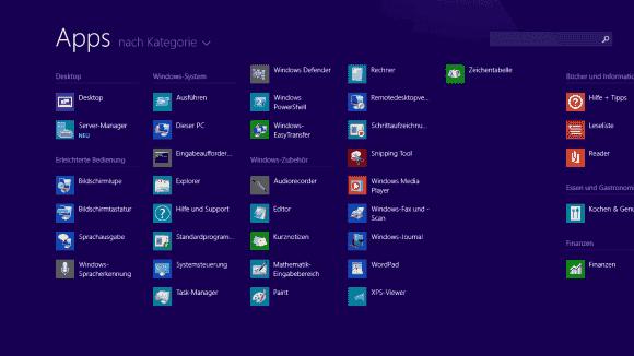 Desktop-Anwendungen nach vorne: Diese Einstellung lässt den Verlust des Startmenüs leichter verschmerzen.
