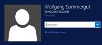 Windows-Anmeldung für letzten angemeldeten Benutzer