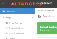 Altaro Physical Server Backup
