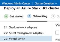 WAC-Wizard für Azure Stack HCI