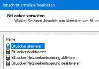 BitLocker verwalten mit Defense Control der bMS