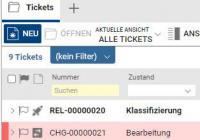 baramundi Ticketing-System