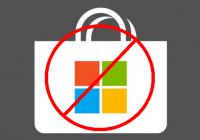 Microsoft Store blockieren
