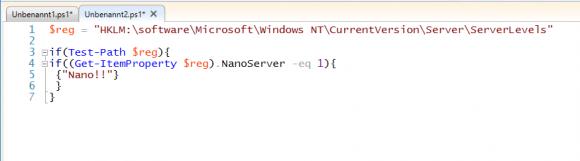 Nano Server mittels Registry-Schlüssel identifizieren