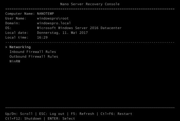 Für Nano Server Container Images gibt es .NET Core 2.0