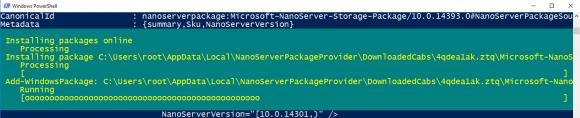 Installation der Rolle Dateiserver mittels PowerShell