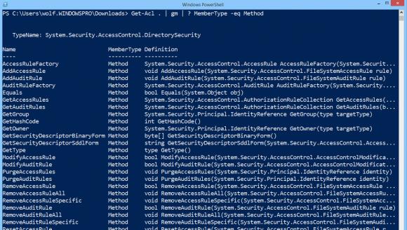 PowerShell verfügt über zahlreiche Methoden für das Management von Dateirechten, bloß ihre Verwendung ist umständlich.