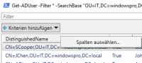 Filtern mit Out-GridView