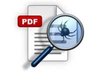 Fehlerhafte PDF-Suche