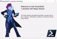Setup für PowerShell 7 Preview