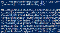 Base64-Codierung in PowerShell