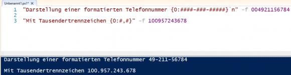 Zahlen nach beliebigen Mustern formatieren mit dem #-Platzhalter