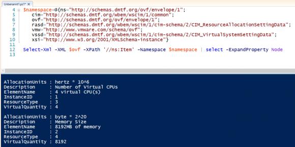 XPath-Abfrage mit Select-Xml unter Angabe von Namespaces