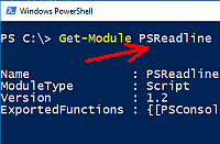Get-Module PSReadline