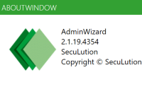 SecuLution AdminWizard