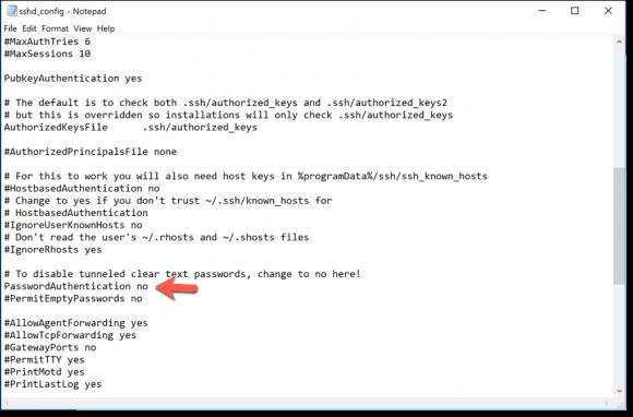 Passwort-Authentifizierung für SSH deaktiveren