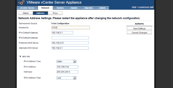 Wenn man die Netzwerkeinstellungen ändern möchte, dann sollte man den Setup Wizard unterbrechen.