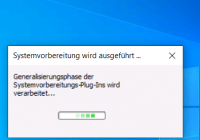 Windows 10 mit sysprep generalisieren