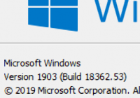 Windows 10 1903 (May Update)