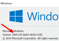 Windows 10 1909 Build 18363.418