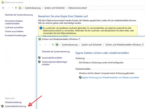 Anwender von Windows 10 müssen in Zukunft ohne das integrierte Backup-Programm auskommen.