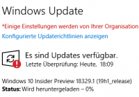 Installation von Windows-Updates