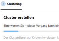 Windows-Cluster in WAC erstellen