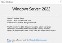 Windows Server 2022 final winver