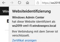 Informationen zum Zertifikat im Browser anzeigen