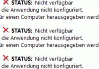 Zertifikatvorlage nicht verfügbar