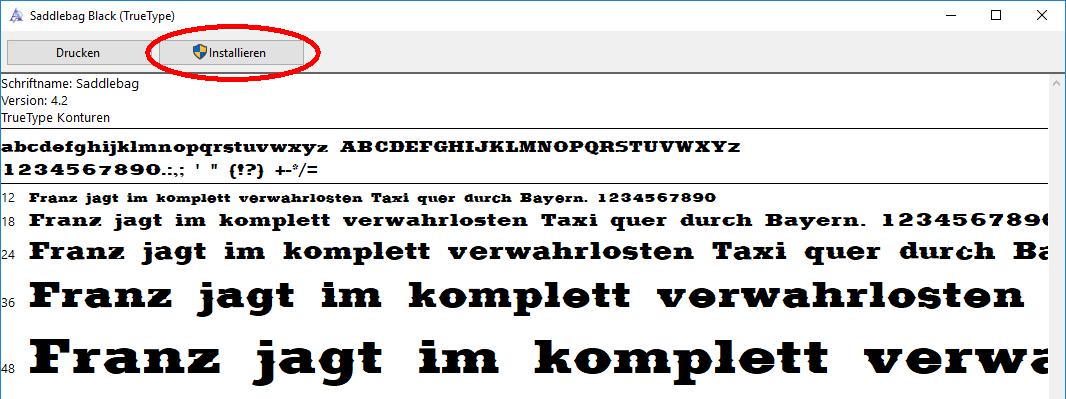 Schriften ohne administrative Rechte installieren | WindowsPro