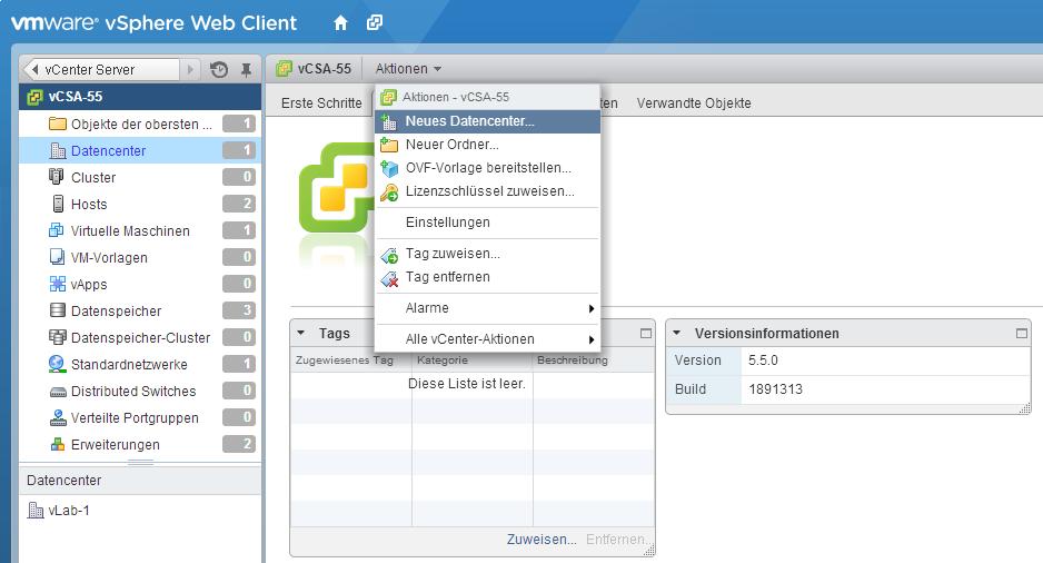 vsphere web client 6.5 how to change language
