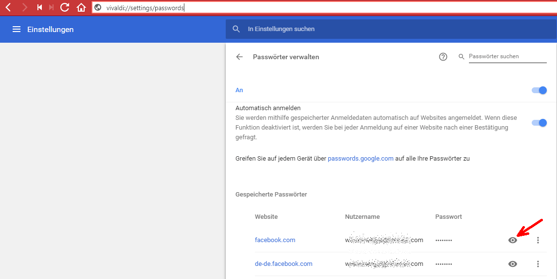 gmx passwort auslesen