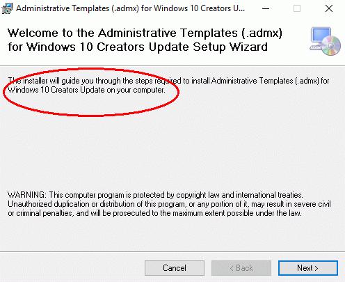 ADMX-Vorlagen und ADK für Windows 10 1703, keine neuen RSAT | WindowsPro