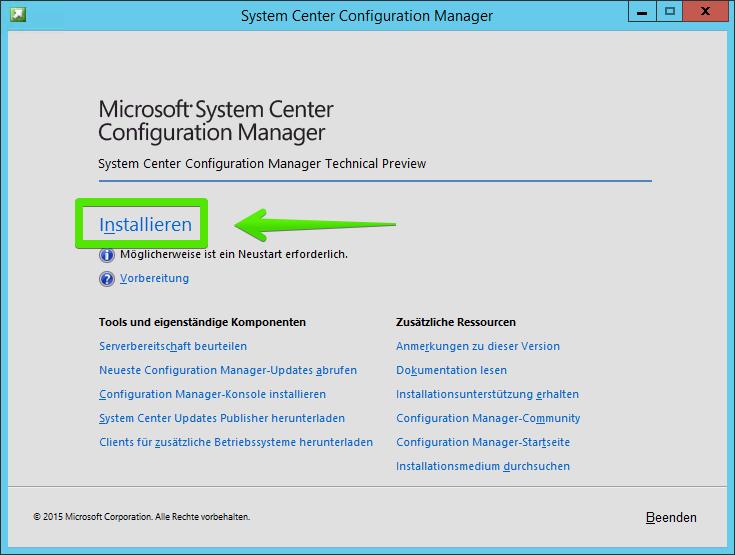 Anleitung: System Center Configuration Manager (SCCM) 2016