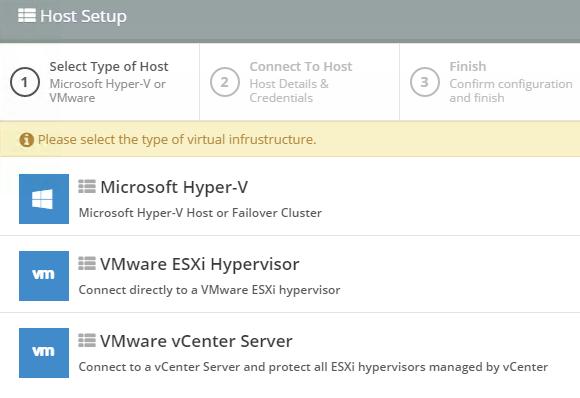 Altaro unterstützt das Sichern von VMs, die mit Hyper-V oder VMware vSphere bzw. ESXi betrieben werden.