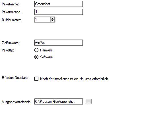 Mit dem Rangee Package Manager kann jegliche Software für die Verteilung an Rangee Clients paketiert werden.