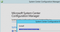 Installation von System Center Confi­gu­ration Manager 2016