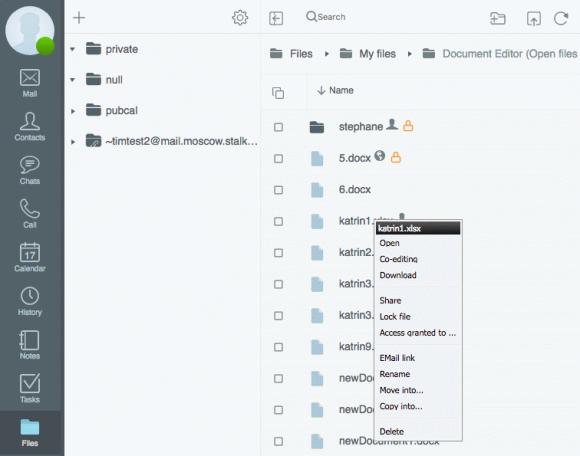 Onlyoffice ist eine direkt in die Groupware integrierte Office-Lösung.