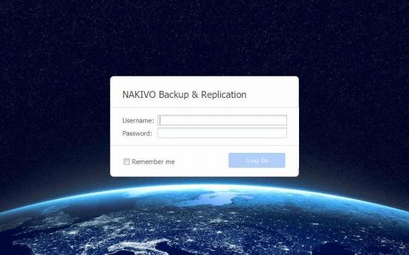 Nakivo wird vollständig über eine Browser-Konsole gesteuert
