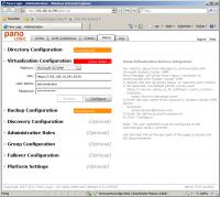 Pano Manager Web Admin Setup Dialog