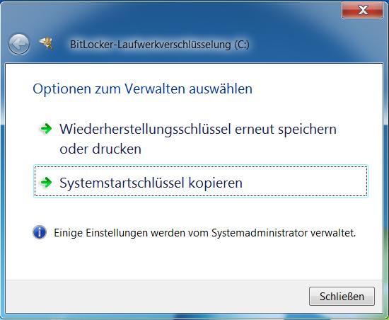 Bitlocker Mit Usb Key Entsperren Auf Notebook Ohne Tpm Windowspro