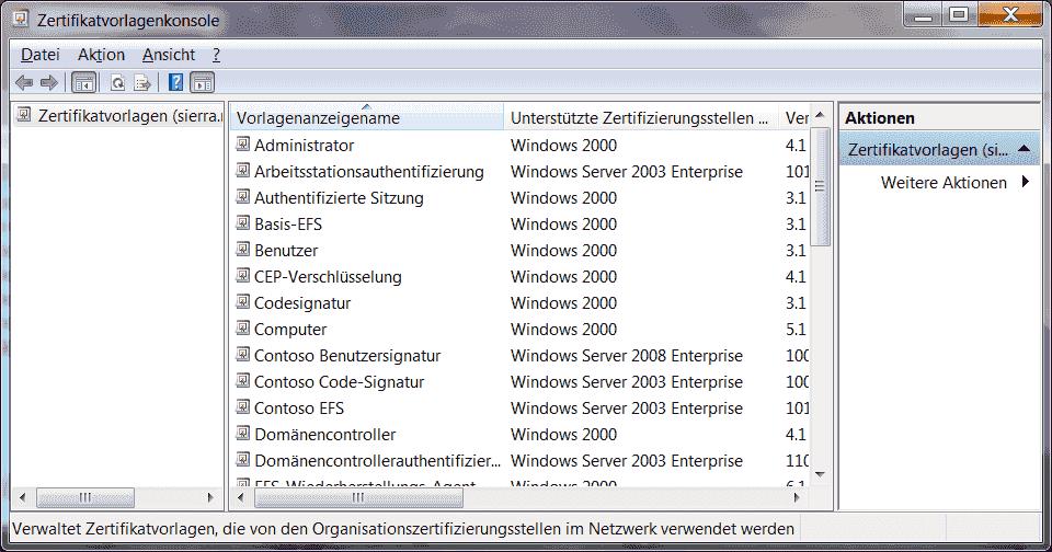 Zertifikatvorlagen in der Windows-PKI verwalten | WindowsPro