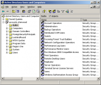 Active Directory MMC