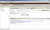 Noch unbesiedelt: Das Active-Directory-Verwaltungscenter im Ursprungszustand