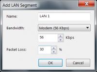 Hinzufügen eines LAN-Segments zur Teamkonfiguration unter VMware Workstation
