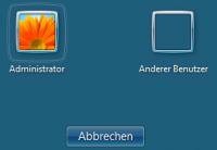 aktiviertes eingebautes Administratorkonto unter Windows 7