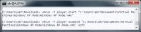 VMware Player lässt sich zwar extern steuern, die GUI aber nicht abschalten